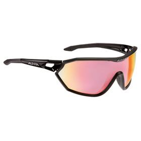 Alpina S-Way QVM+ Glasses black matt